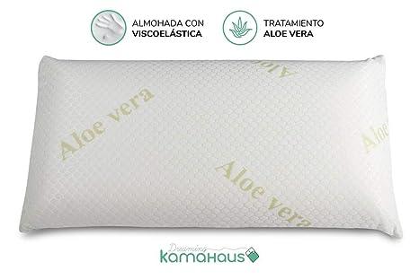 Dreaming Kamahaus Almohada Visco Aloe Vera 90cm | Núcleo ...
