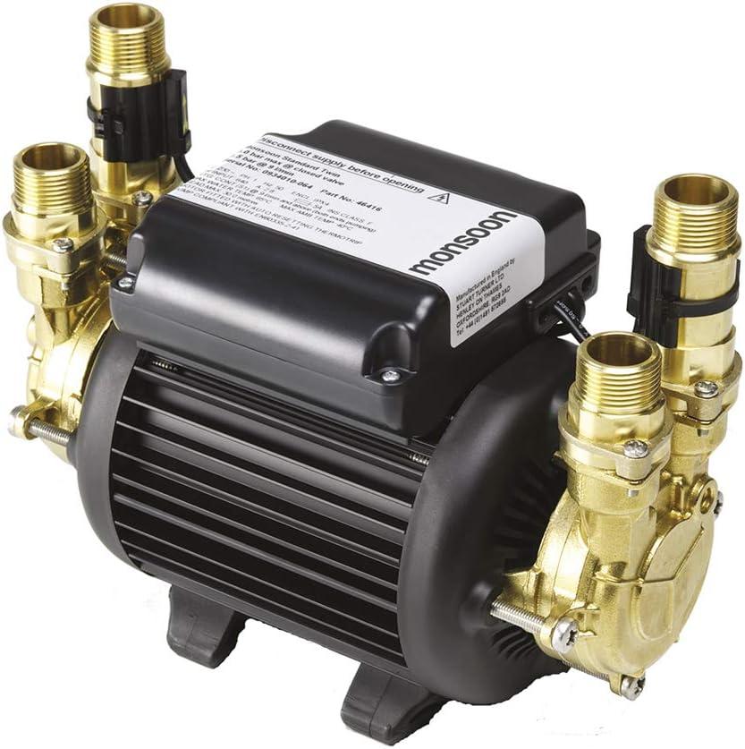 Monsoon Standard Twin 3.0 Bar 46416 Positive Head Shower Pump
