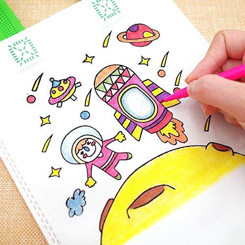 Lote 12 DIY Graffiti Bolsas para Colorear Ideal para +24 lápices de ...