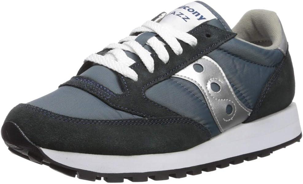 brand new b5ee6 7e161 Originals Men's Jazz Sneaker,Navy/Silver,9.5 M