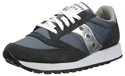 huge discount e5b88 2b6b9 Saucony Originals Men s Jazz Sneaker,Navy Silver ...