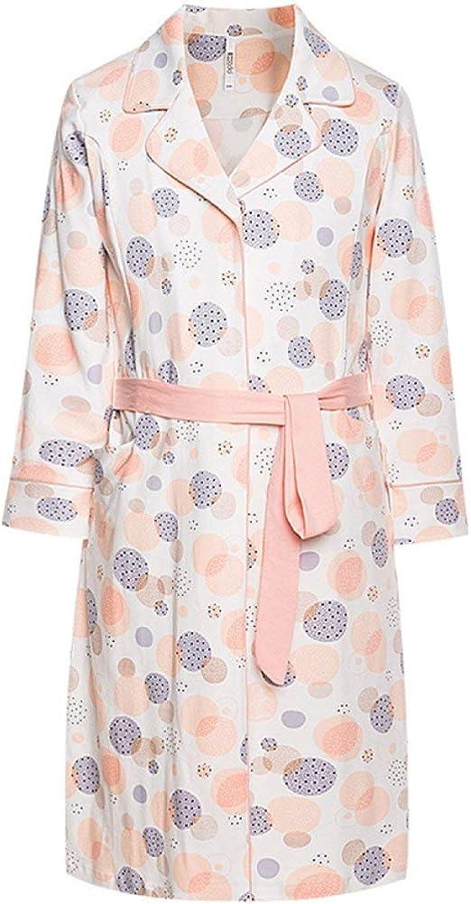 Martinad Mujeres Algodón Batas Camisones De Manga Larga Vestido De con Estilo único Pijama Bata Kimono