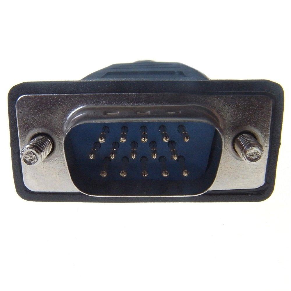 Connekt Gear Prolunga VGA HD15M a HD15F 3 m doppia schermatura e completamente cablato