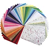 60 Sheets 8.5x12 Inches Mulberry Paper Sheet Design Craft Hand Made Art Tissue Japan Origami Washi Wholesale Bulk Sale Unryu Suppliers Thailand Products Card Making, Products from Thailand