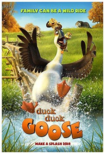 Duck Duck Goose Movie Poster  18 x 28 Inches