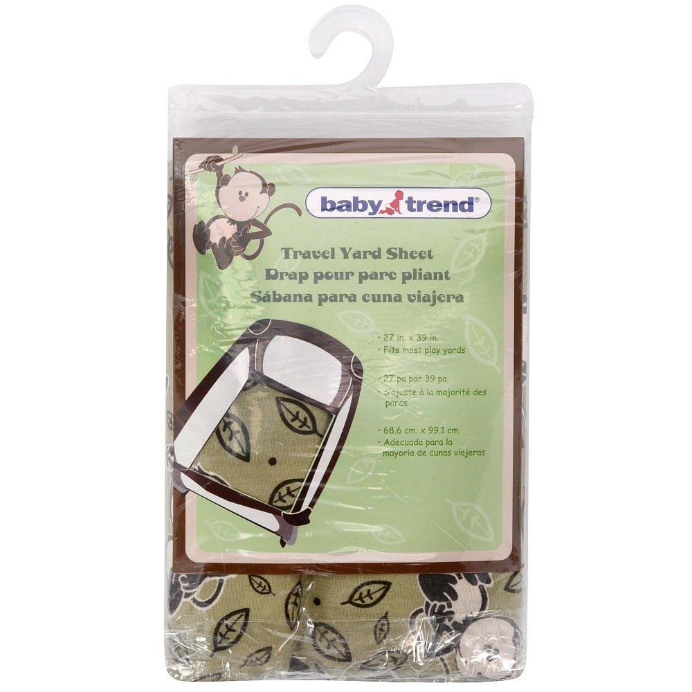 Baby Trend Travel Yard Sheet - Monkey Around