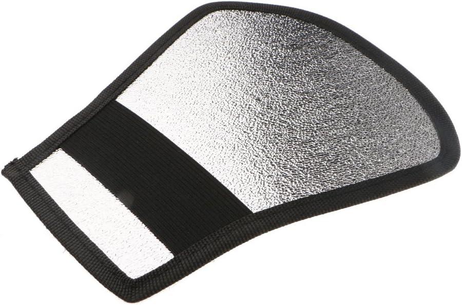 Flash Diffuser Softbox Silver//White Reflector for Canon//DSLR Speedlite