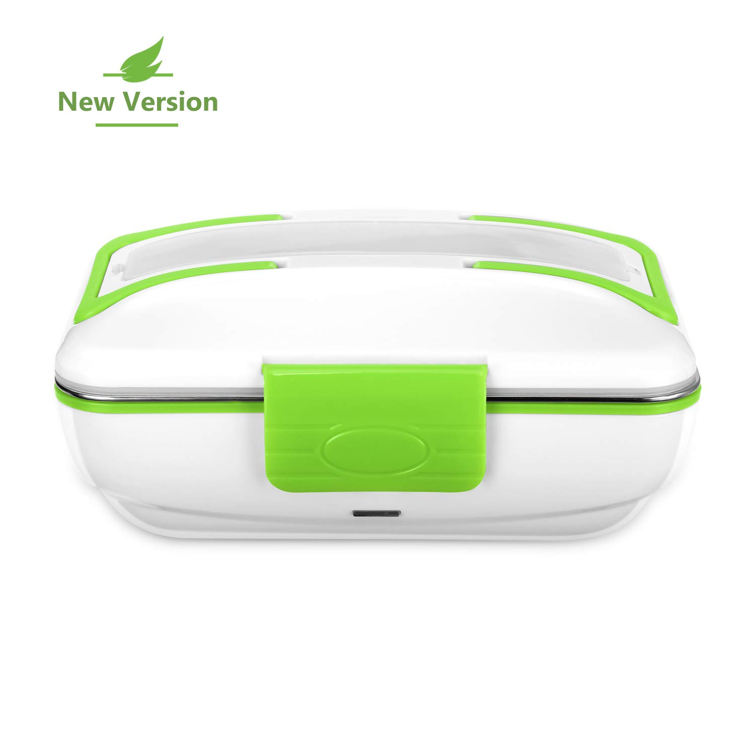 YOHOOLYO Electric Lunch Box Food Heater Portable with Removable Stainless Steel Container Food Grade Material Smile&Satisfaction COMIN18JU077437