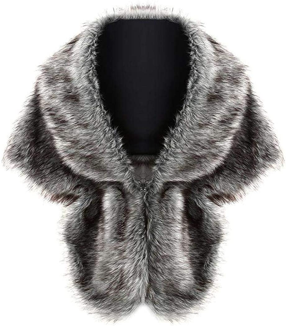 Zronji Women Faux Fur...