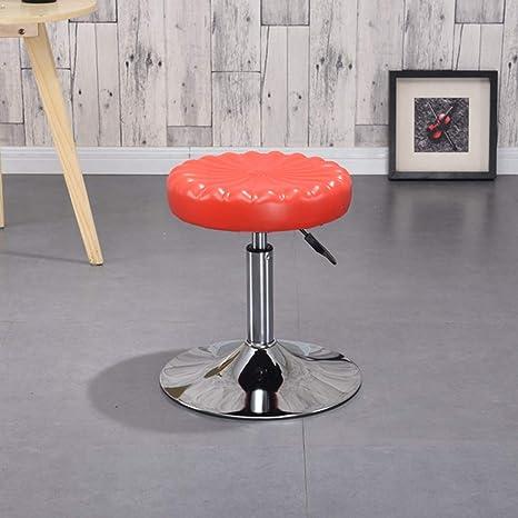 Fabulous Amazon Com Mimi King Round Bar Stool Lifts And Rotates Machost Co Dining Chair Design Ideas Machostcouk