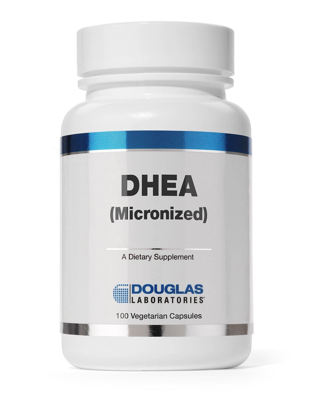 Douglas Laboratories - DHEA 50 mg - Micronized to Support Immunity, Brain, Bones, Metabolism and Lean Body Mass* - 100 Capsules