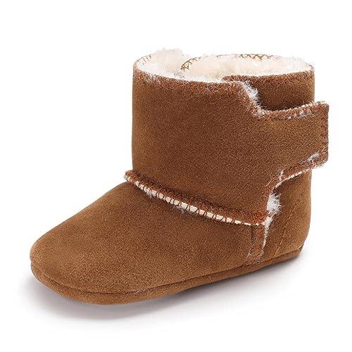 nett Clode® Baby Mädchen Flauschige Samt Schuhe Soft Sole