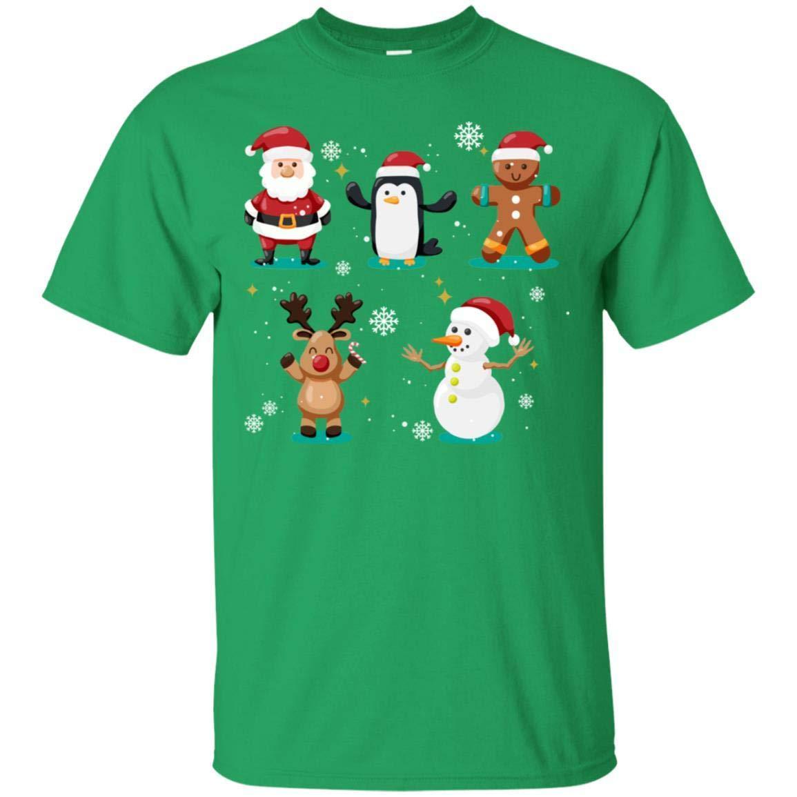 TeeAbelia Christmas Character Ideas Gift Shirt
