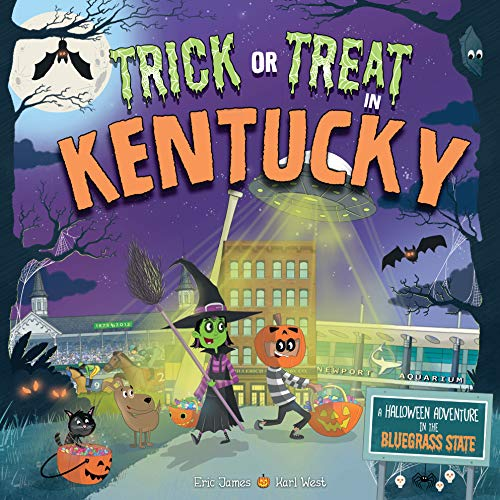 Halloween Night In (Trick or Treat in Kentucky: A Halloween Adventure In The Bluegrass)