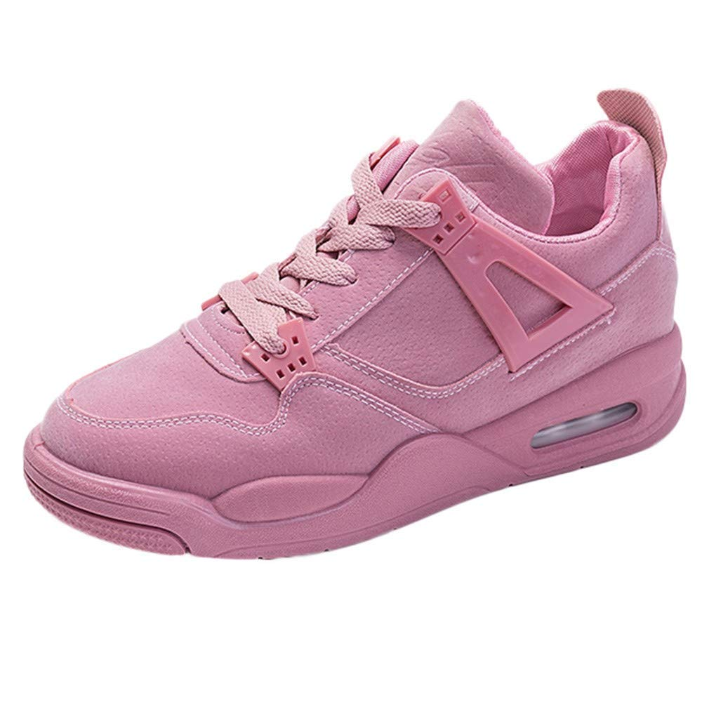 pink Lady Sport Fashion Ladies Casual Running shoes Travel shoes Student Running shoes Cosy Wild Tight Super Elegant Leisure Quality for Womens