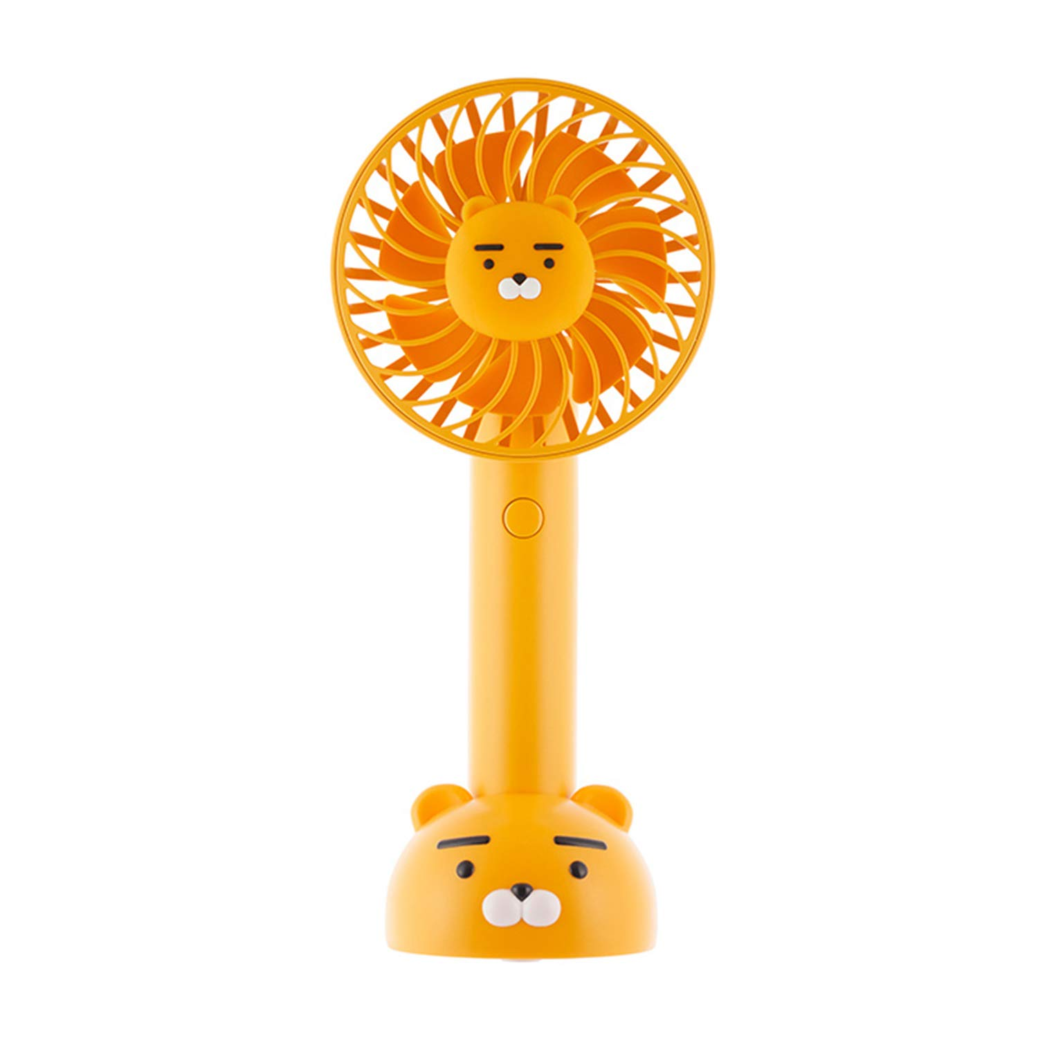 KAKAO FRIENDS Official- Portable Handheld Fan with Detachable Base, Rechargeable USB Charging 2200mAh Battery, Adjustable 3 Speed (Ryan) by KAKAO FRIENDS