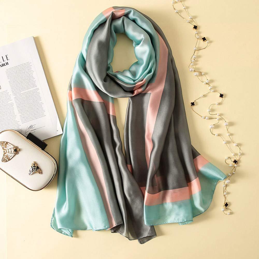 Hmeili Schals Seidenschal Plaid F/ür Weibliche Schal Hijabs