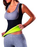 HENGSONG Women Slimming Waist Yoga Vest Neoprene Body Shaper Sweat Sauna Suit Shirts Shapewear Vest Top