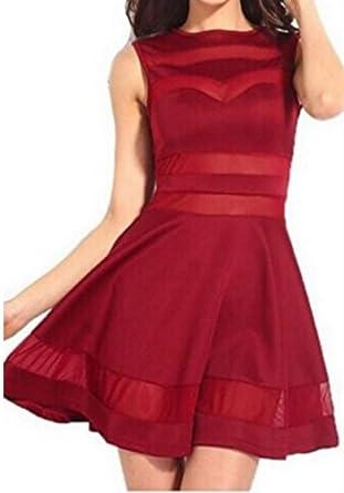 A linie kleid rot