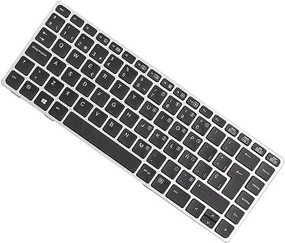 B Baosity Teclado de Diseño/Idioma: Español para HP EliteBook 8460p 8460w 8470p