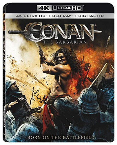 4K Blu-ray : Conan the Barbarian (With Blu-Ray, 4K Mastering, 2 Pack, 2 Disc)