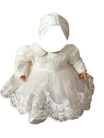 Edel Baby Taufkleid Festkleid Kleid Taufe Set Mit Bolero