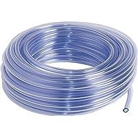 SIBO 25 Meter Klarer PVC Schlauch, Lebensmittelecht, Luftschlauch Ø 8x10mm (Innen/Außen)