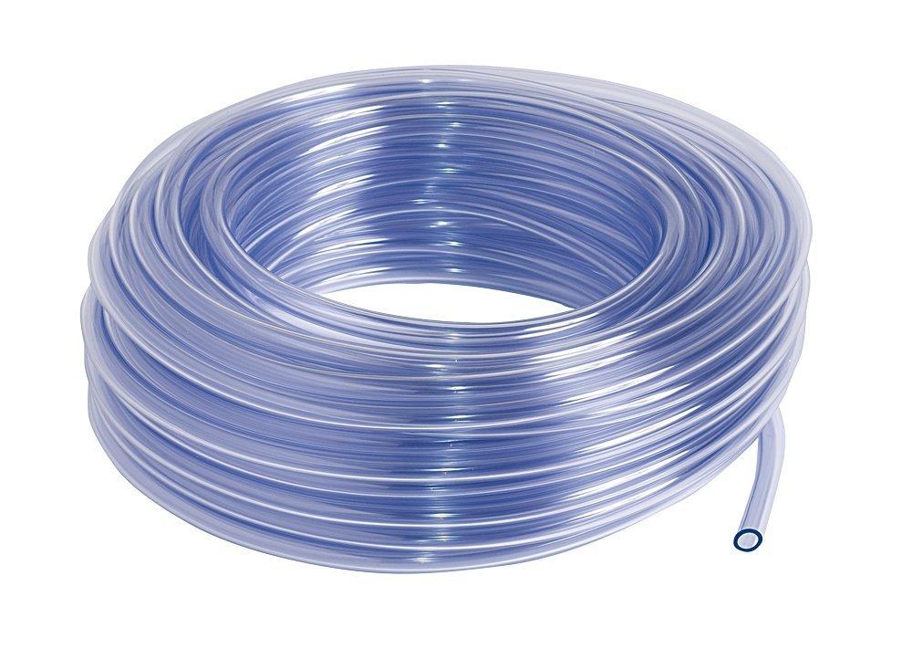 SIBO PVC Schlauch, Kristallklar-Transparent (Meterware), Schlauchdurchmesser:4-7