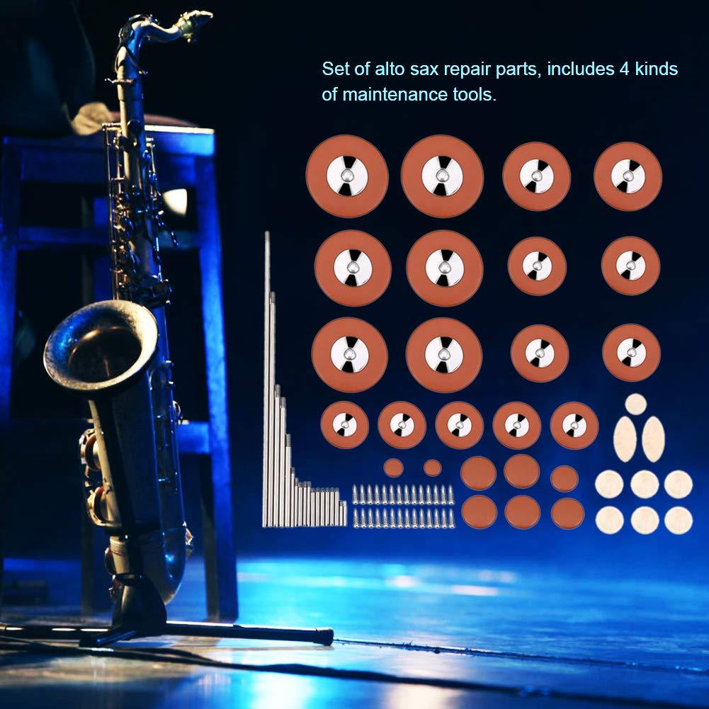Saxophone Pads Rollers Wind Musical Instrument Maintenance Kit Bnineteenteam Alto Saxophone Repair and Maintenance Kit