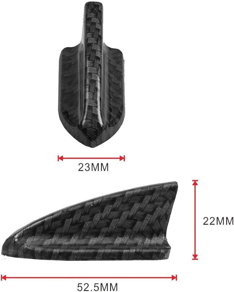OSIAS 10PCS Vortex Generator Flexible PP EVO-Style ROOF Shark FINS Spoiler Wing KIT BLACK1