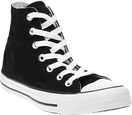 Converse All Star Hi Homme Baskets Mode Noir: Amazon.fr ...