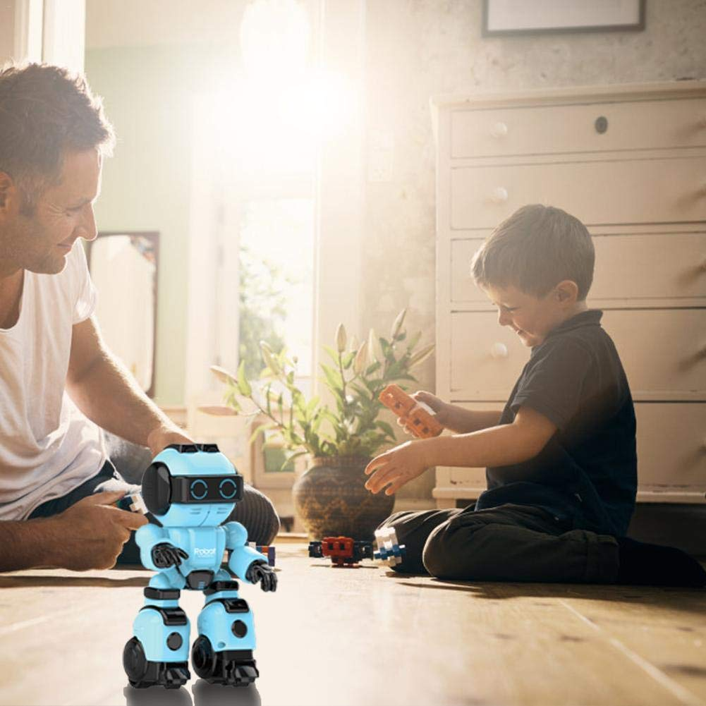 Remoto Robots Szseven Niños Juguete Control Robot Niño Programable 543jARLq
