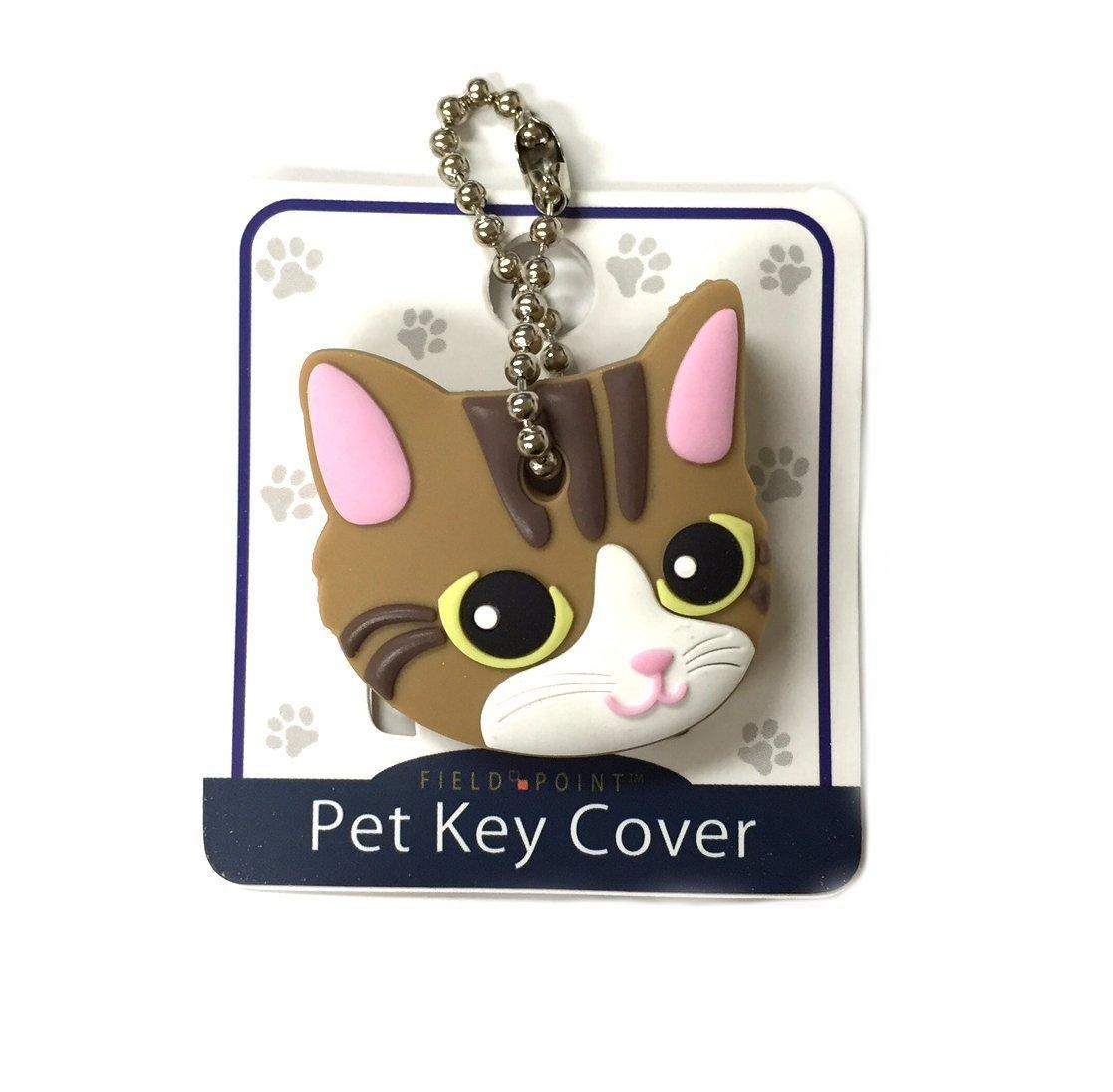 Key Cover / Key Caps / Key Holder / Keycaps - Cute Animal Pet Faces (Black Cat) Field Point FBA_FS2805 FS2808 FS2810
