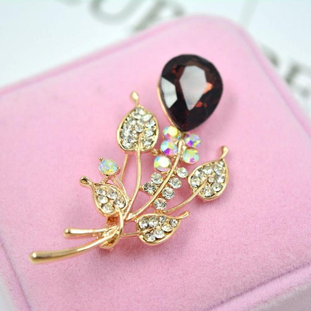Brooch Pin with Diamond Corsage Bouquet Christmas Clothing Accessories MAFYU Brooch
