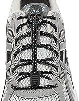 LOCK LACES (Elastic No Tie Shoe Laces) (Pack of 2)