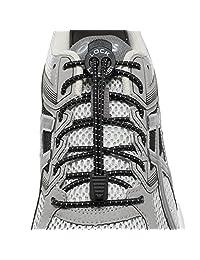 Lock Laces (Elastic No Tie Shoe Laces (Pack of 2)