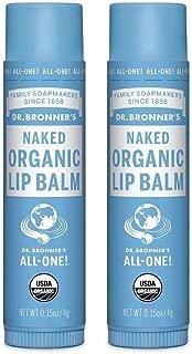 product image for Dr. Bronner's Organic Lip Balm - Naked - 0.15 oz - 2 pk