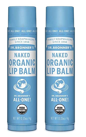 Organic Lip Balm Naked by dr bronners #18