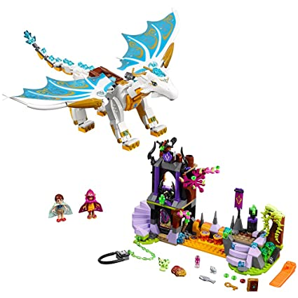 LEGO Elves Queen Dragon's Rescue 41179 Creative Play Toy for 9- to  12-Year-Olds