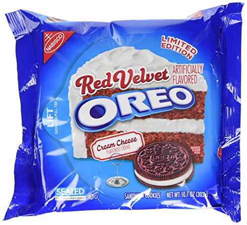 Oreo Red Velvet Sandwich Cookies, 10.7 Ounce -
