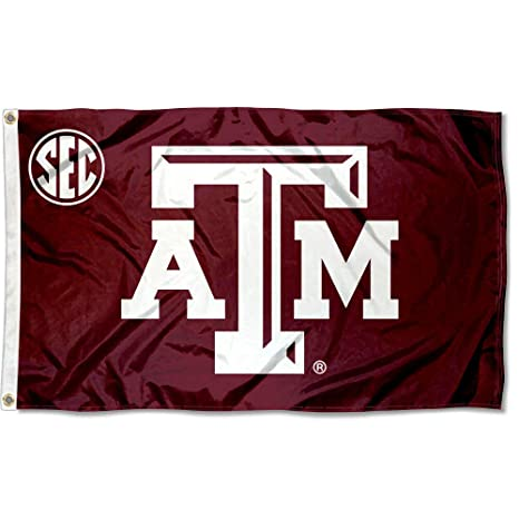 bd9a54256 Amazon.com : College Flags and Banners Co. Texas A&M Aggies SEC Flag :  Outdoor Flags : Sports & Outdoors