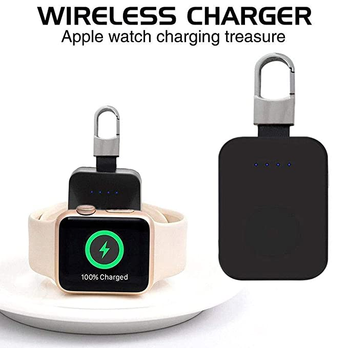 Accessories & Parts Chargers Supply Qi Wireless Charger Power Bank For Apple Watch I Watch 1 2 3 4 Portable Mini Wireless Charger External Battery Pack Keychain