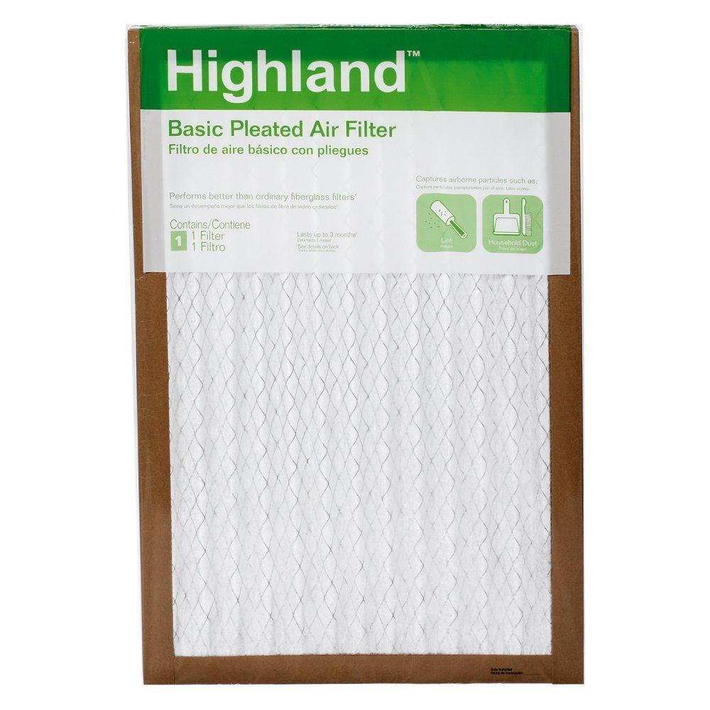 3M FBA01DC-H-6 16 X 25 X 1 Highland Basic Pleated Air Filter
