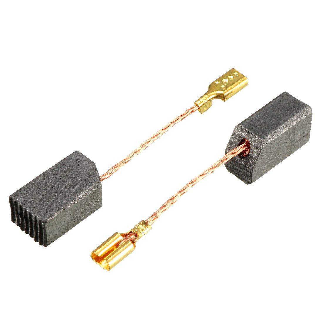 Sourcingmap - ® 2 piezas 23 mm x 16 mm x 6 mm Motor eléctrico escobillas de carbono para amoladora de ángulo Bosch 180: Amazon.es: Bricolaje y herramientas