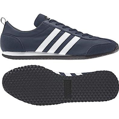 adidas Herren VS Jog Laufschuhe, Blau (ConavyFtwwhtCblack