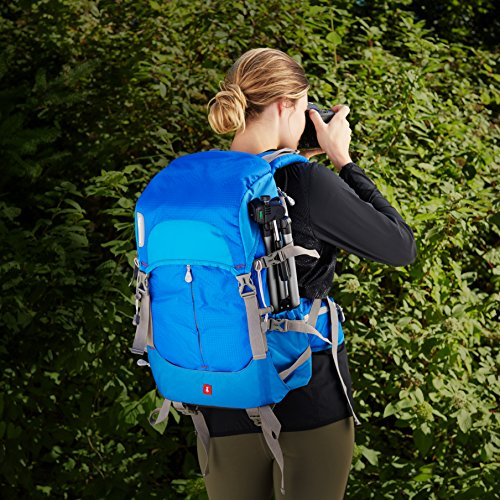 Series Backpack Camera AmazonBasics Hiker Blue Blue qzwOt1
