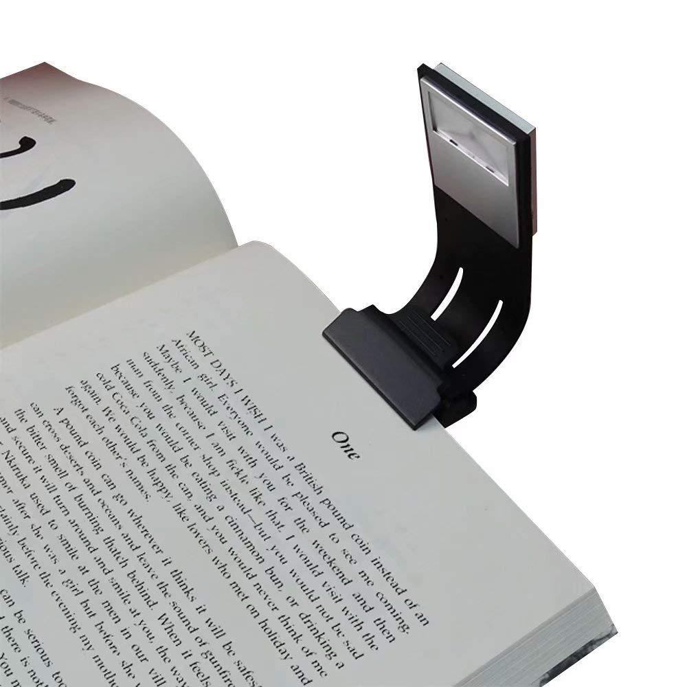 クリップ読書ライト、aoliplus ブラック LE B0745B7J99 ブラック