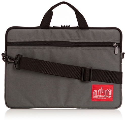 Manhattan Portage Convertible Laptop Bag (Gray, Small)