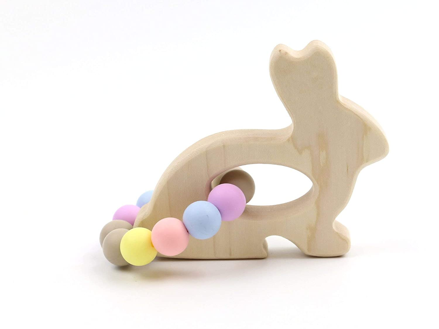 Bunny Wooden Teether