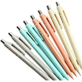 GANSSIA Colorful Series Design 0.5mm Mechanical Pencils Pack of 8 Pcs